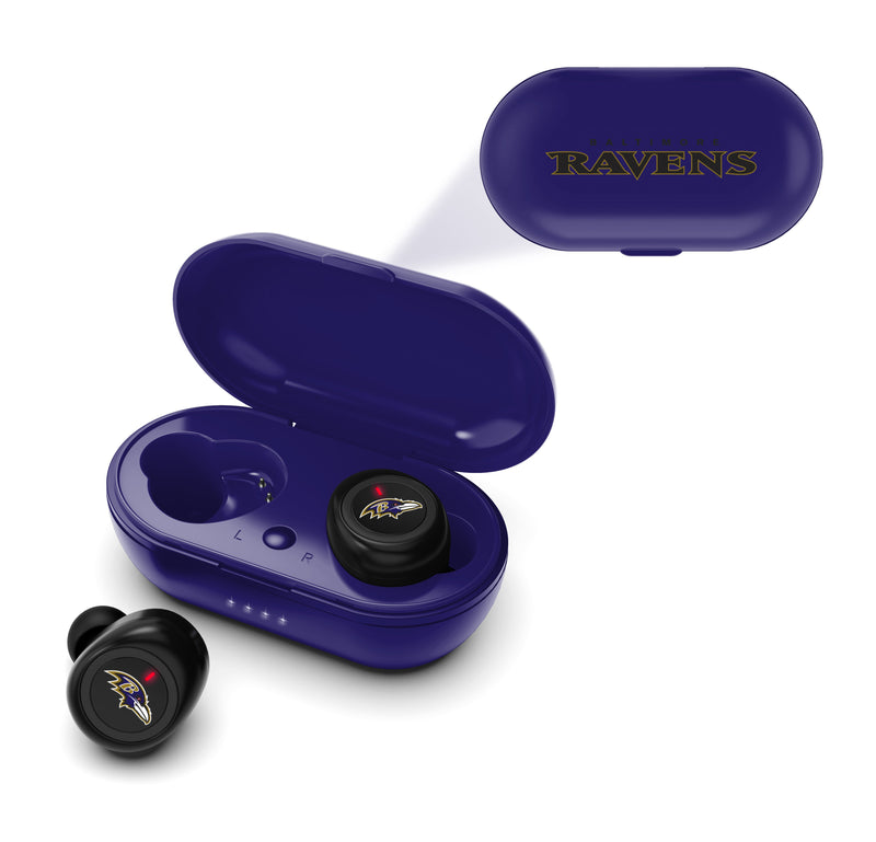 Baltimore Ravens True Wireless Earbuds