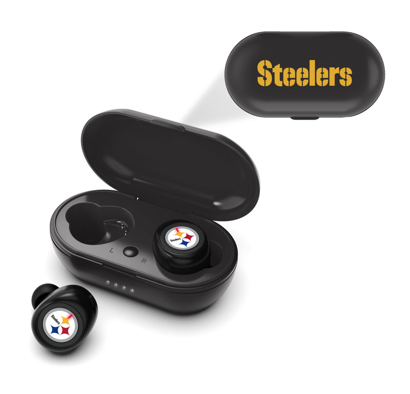 Pittsburgh Steelers True Wireless Earbuds