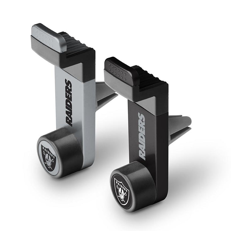 Oakland Raiders Car Mount 2 Pack - Prime Brands Group