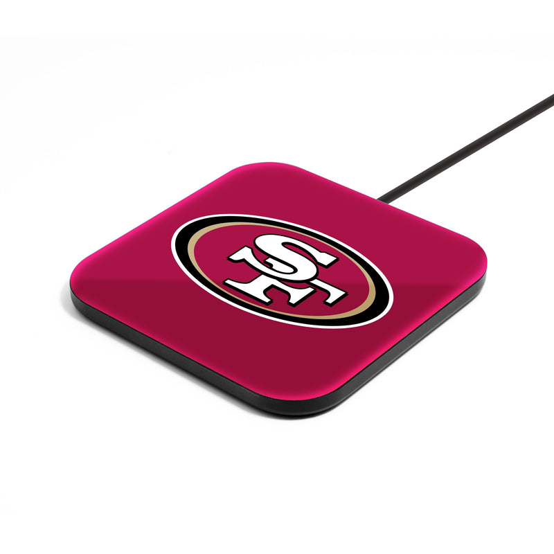 San Francisco 49ers Wireless Charging Pad - Prime Brands Group