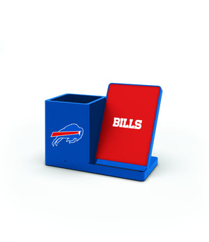 Buffalo Bills Wireless Charging Pen Holder - Prime Brands Group