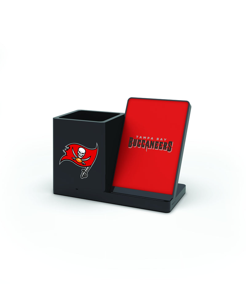 Tampa Bay Buccaneers Wireless Charging Pen Holder - Prime Brands Group