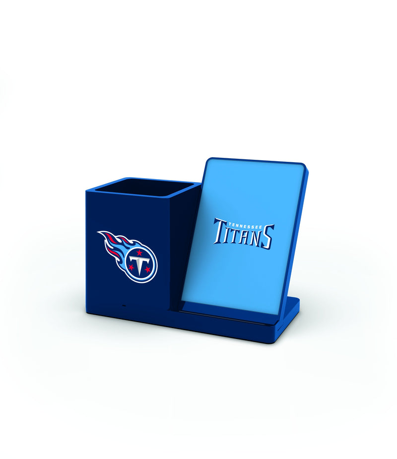 Tennessee Titans Wireless Charging Pen Holder - Prime Brands Group