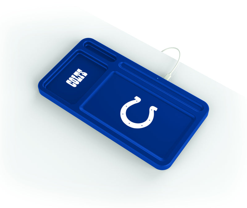 Indianapolis Colts Wireless Charging Desk Valet - Prime Brands Group