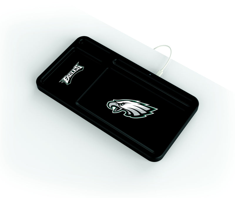 Philadelphia Eagles Wireless Charging Desk Valet - Prime Brands Group