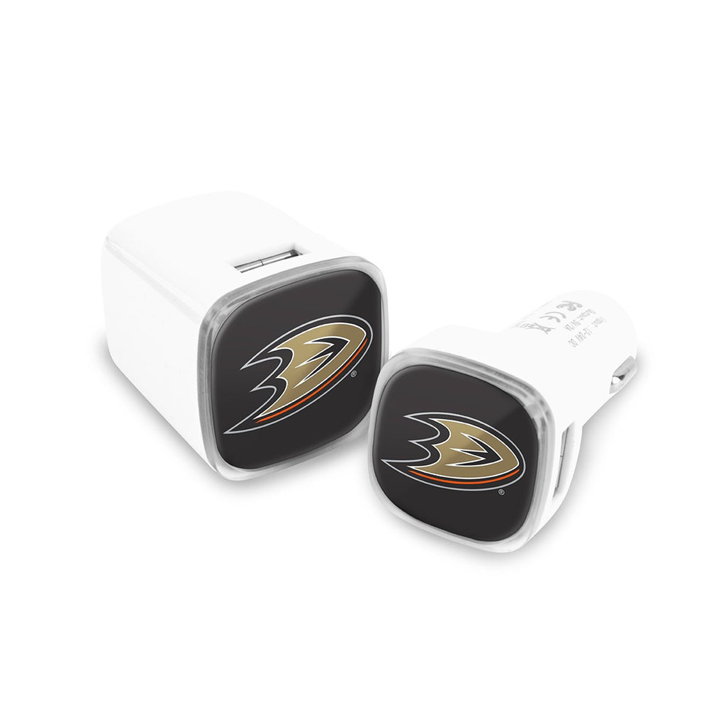 Anaheim Ducks Car and Wall Chargers