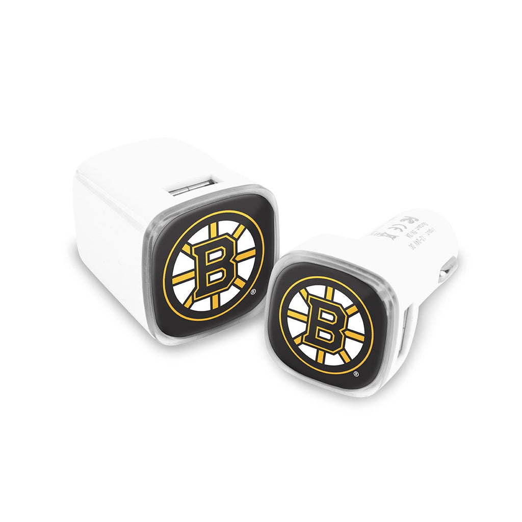 Boston Bruins Car and Wall Chargers