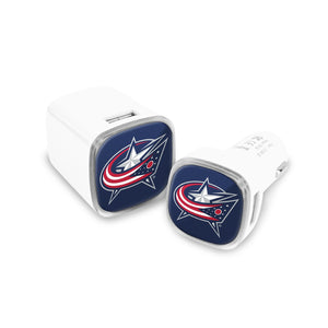 Columbus Blue Jackets Car and Wall Chargers