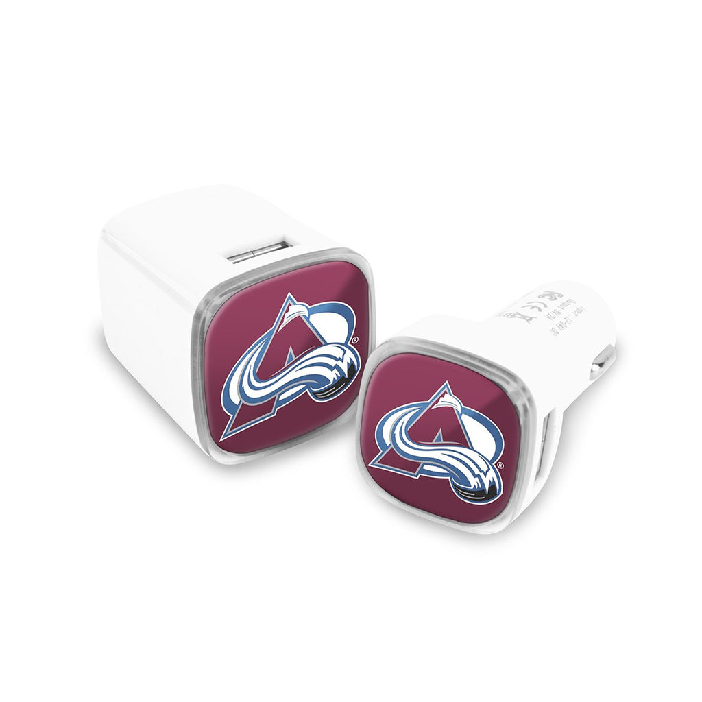 Colorado Avalanche Car and Wall Chargers