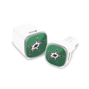 Dallas Stars Car and Wall Chargers - Prime Brands Group