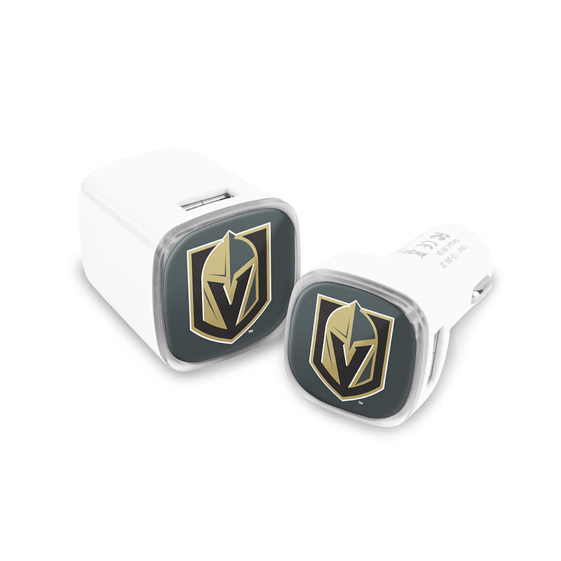 Vegas Golden Knights Car and Wall Chargers - Prime Brands Group