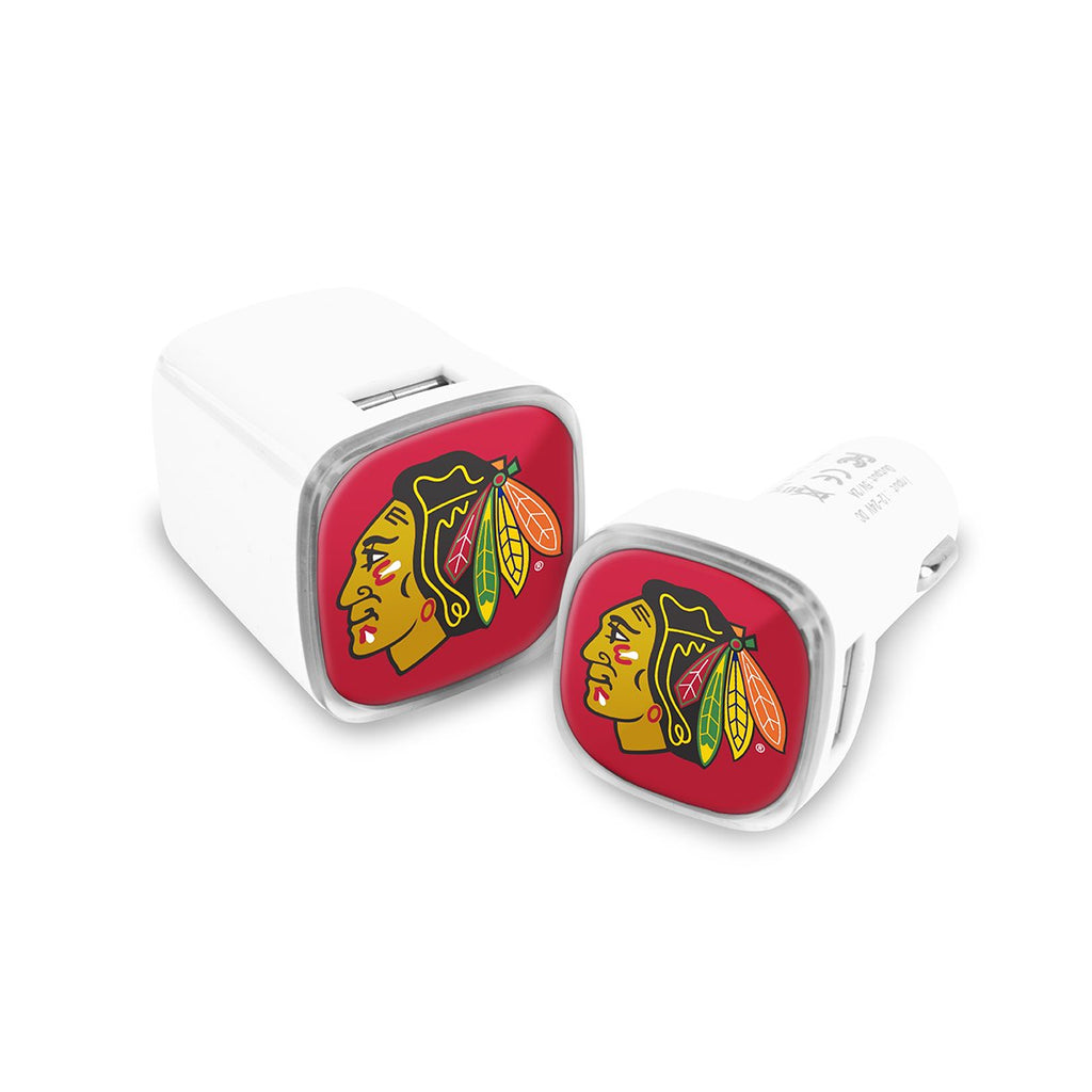 Chicago Blackhawks Car and Wall Chargers