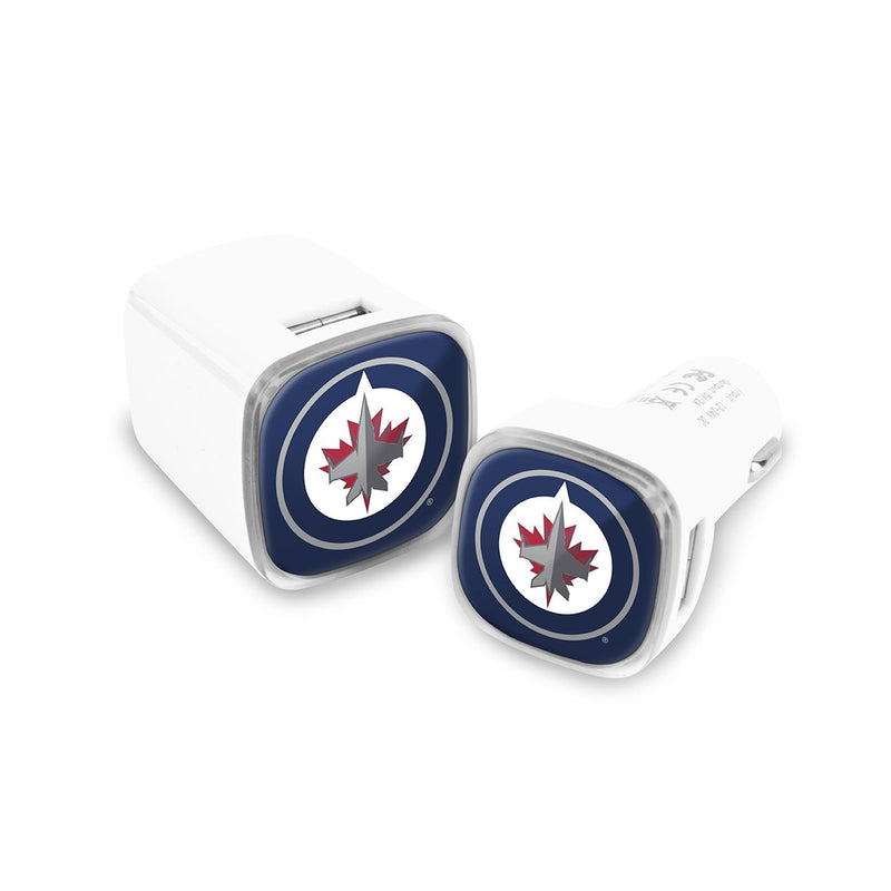 Winnipeg Jets Car and Wall Chargers - Prime Brands Group