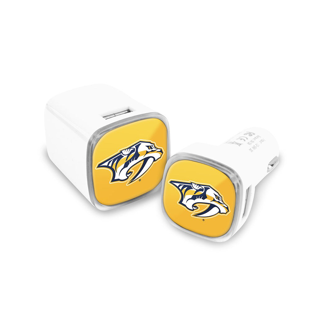 Nashville Predators Car and Wall Chargers