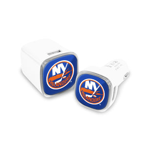 New York Islanders Car and Wall Chargers