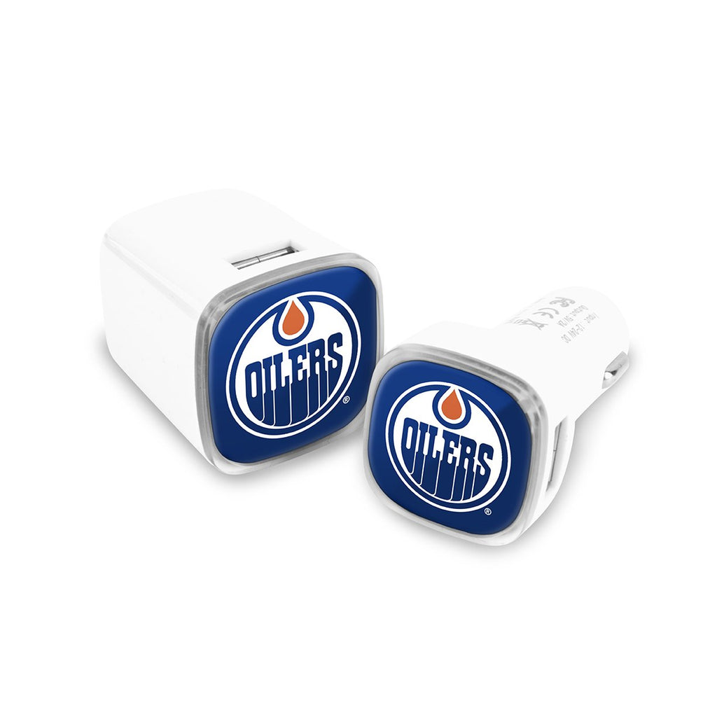 Edmonton Oilers Car and Wall Chargers