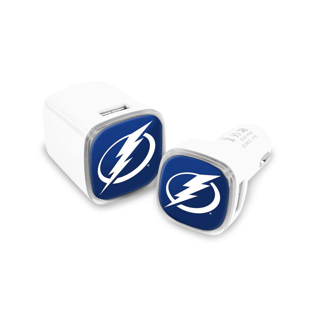 Tampa Bay Lightning Car and Wall Chargers