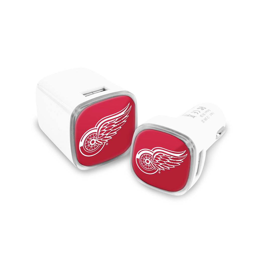 Detroit Red Wings Car and Wall Chargers