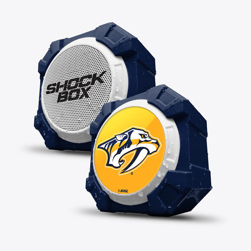 Nashville Predators ShockBox Bluetooth Speaker - Prime Brands Group