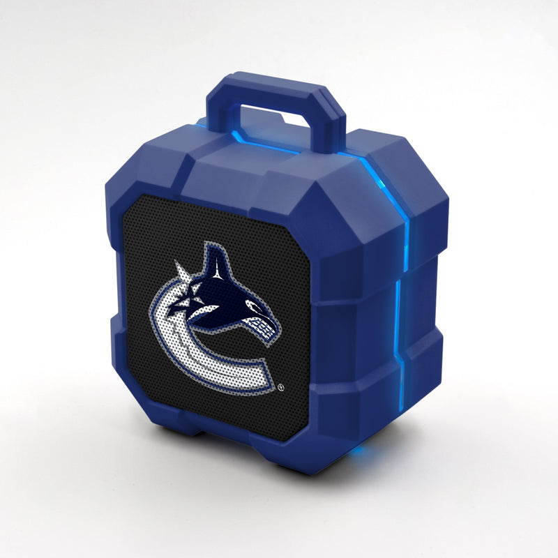 Vancouver Canucks ShockBox LED Speaker - Prime Brands Group