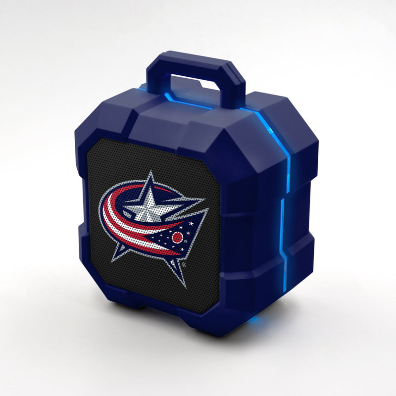 Columbus Blue Jackets ShockBox LED Speaker - Prime Brands Group
