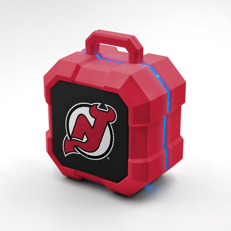 New Jersey Devils ShockBox LED Speaker - Prime Brands Group