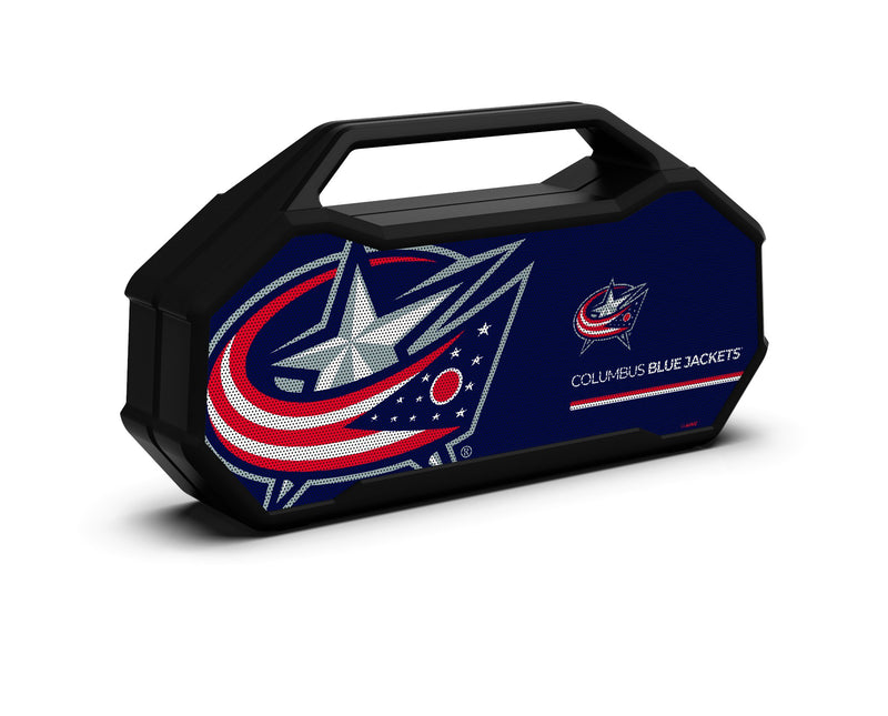 Columbus Blue Jackets Shockbox XL Speaker - Prime Brands Group