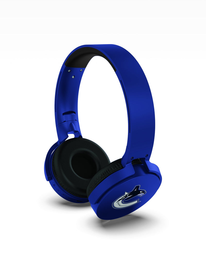 Vancouver Canucks Wireless DJ Headphones - Prime Brands Group