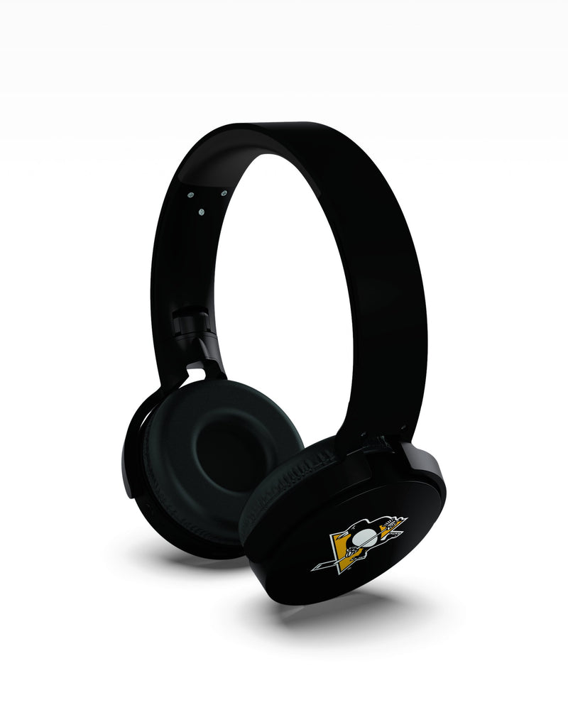 Pittsburgh Penguins Wireless DJ Headphones - Prime Brands Group
