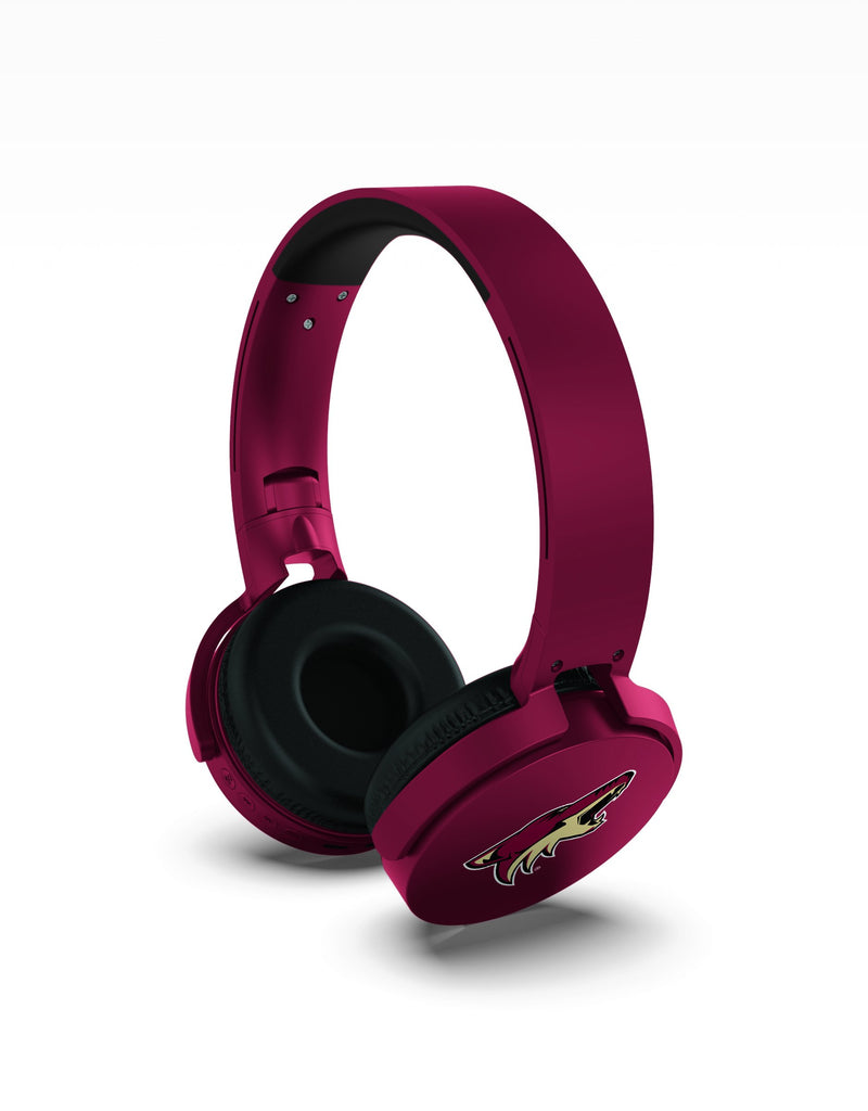 Arizona Coyotes Wireless DJ Headphones - Prime Brands Group