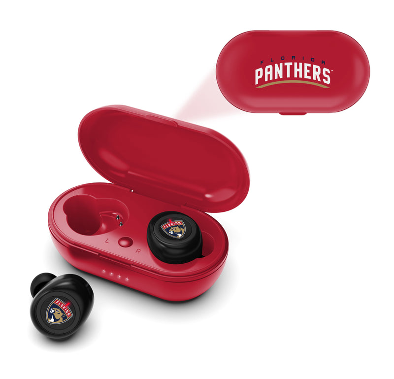 Florida Panthers True Wireless Earbuds