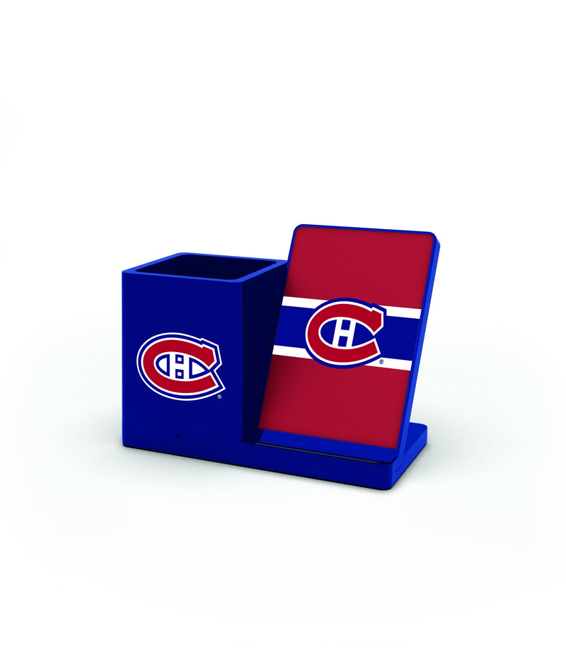 Montreal Canadiens Wireless Charging Pen Holder - Prime Brands Group