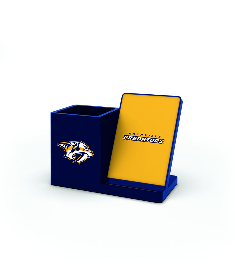 Nashville Predators Wireless Charging Pen Holder - Prime Brands Group