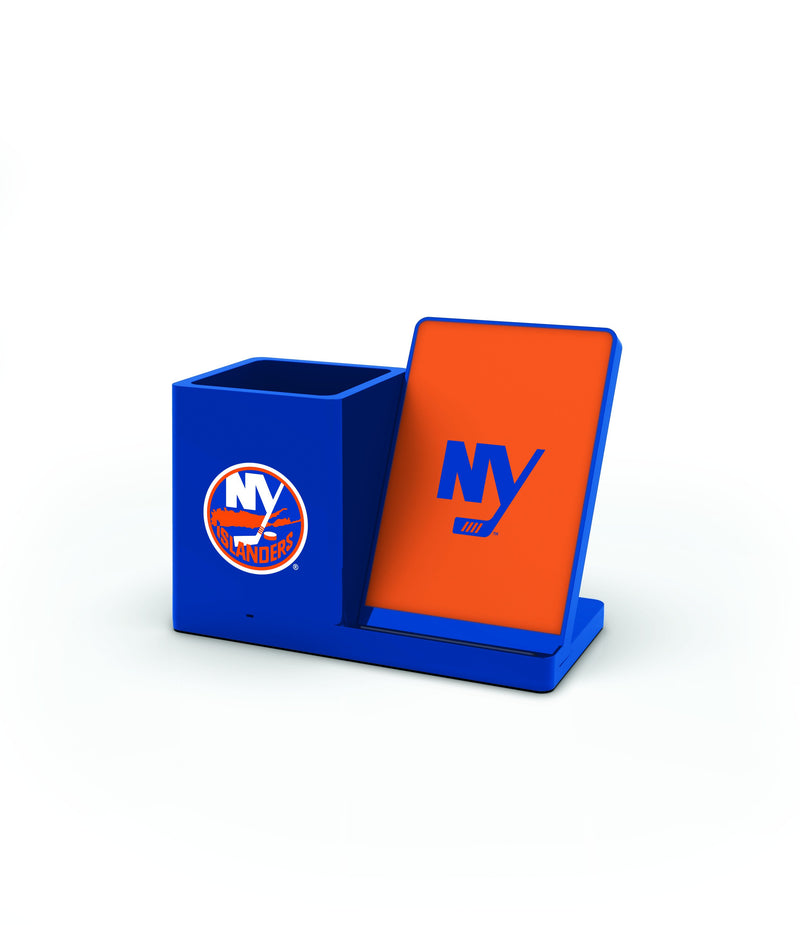 NY Islanders Wireless Charging Pen Holder - Prime Brands Group