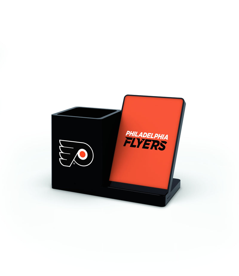 Philadelphia Flyers Wireless Charging Pen Holder - Prime Brands Group