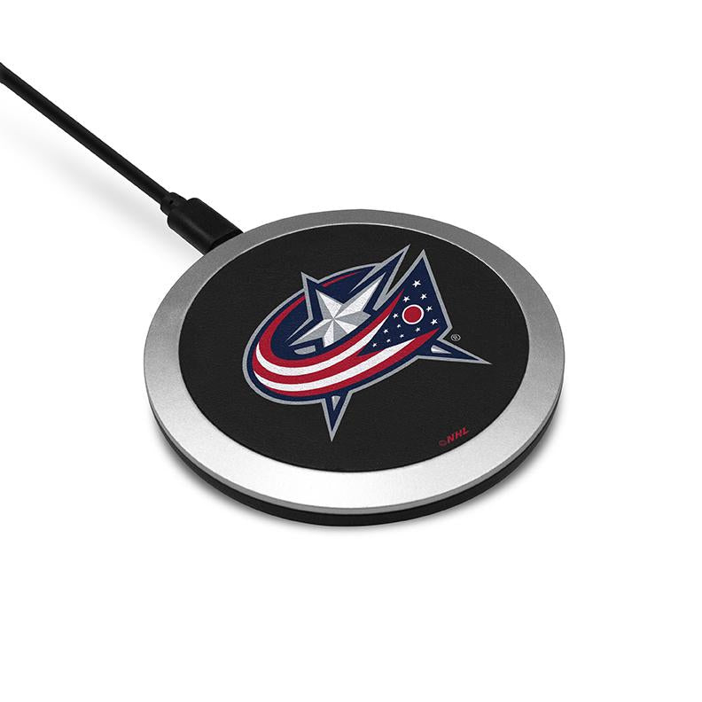 Columbus Blue Jackets Wireless Charging Pad - Prime Brands Group