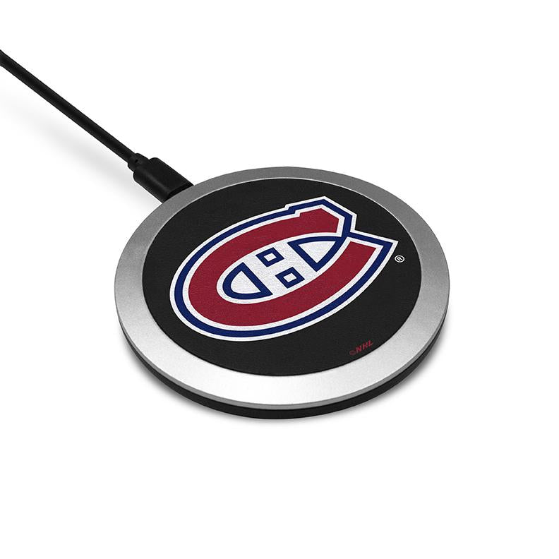Montreal Canadiens  Wireless Charging Pad - Prime Brands Group