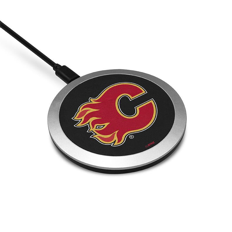 Calgary Flames Wireless Charging Pad - Prime Brands Group