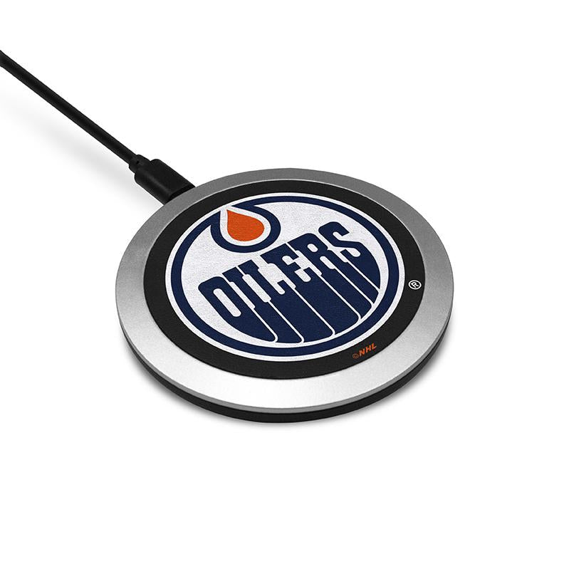 Edmonton Oilers Wireless Charging Pad - Prime Brands Group