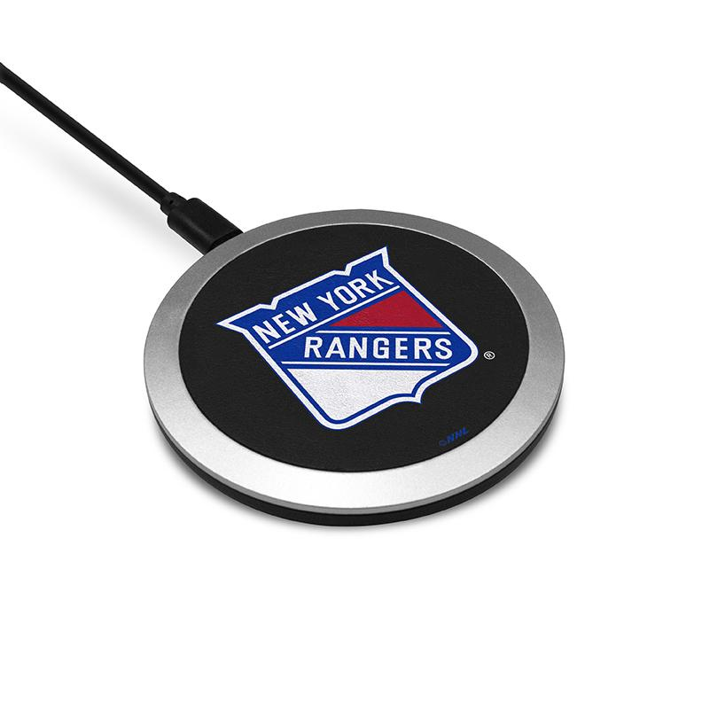 New York Rangers Wireless Charging Pad - Prime Brands Group