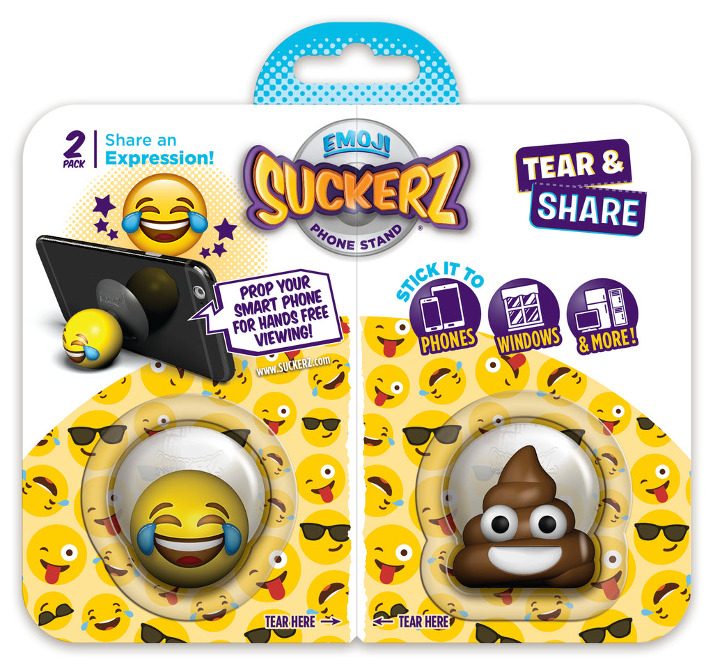LOL Emoji & Poop Suckerz 2-Pack