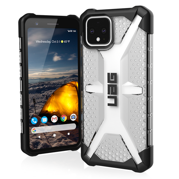 UAG PIXEL 4 PLASMA CASE - ICE/BLACK