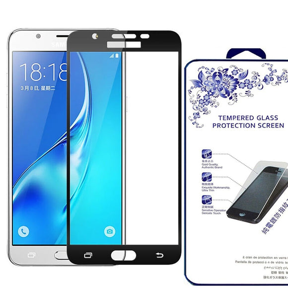 Samsung Galaxy J3 Emerge Luna Pro Full Cover Tempered Glass Screen Protector