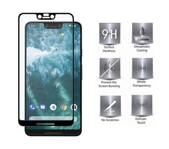 3D Tempered Glass Full Cover Screen Protector Shatter Proof Google Pixel 3 3 XL