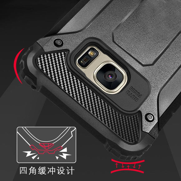 Samsung S7 Edge Shockproof Hybrid Case