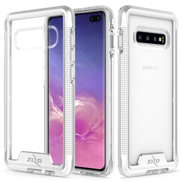 SAMSUNG GALAXY S10- ZIZO ION TRIPLE LAYERED HYBRID CASE WITH MILITARY GRADE DROP TESTED