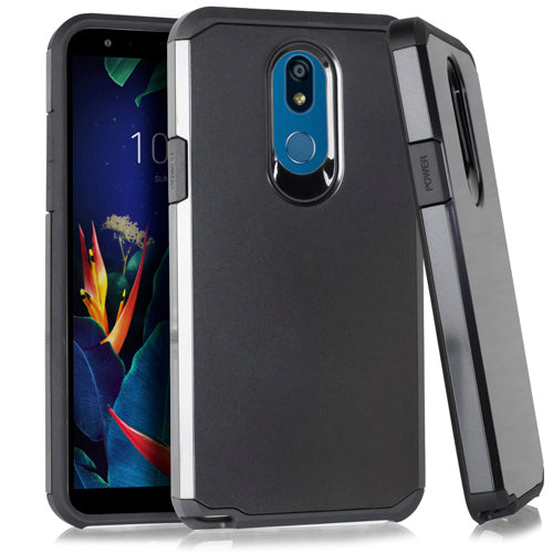 LG K40 Slim Case 2 Metallic Black