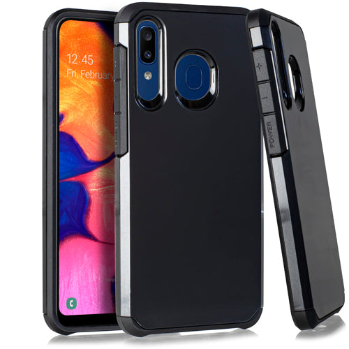 Samsung A20 A50 Slim Case 2 Metallic Black