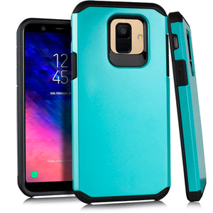 Samsung A6 Slim Case 2 Metallic Teal