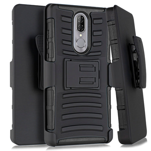 Coolpad Legacy Hybrid H Stand w/ Holster Black